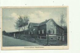 Wallefeld - Pensionhaus Waldfrieden - Stempel 1939 (2scans) - Duitsland
