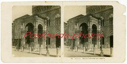 SIENA Palazzo Comunale Con Loggetta (Stereoscopic) Italy  No 25 - Stereoscopio