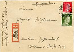 (Lo3175) Einschr. Brief DR  St. Groß Jestin N. Berlin - Germania