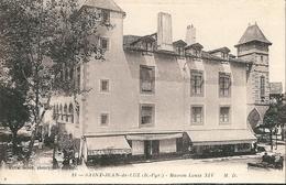 4 Cpa De  SAINT-JEAN-de-LUZ  ( 64 )  Maison Louis XIV, Les Quais De Ciboure Et Le Port, Le Golf Hotel, Le Casino - Saint Jean De Luz