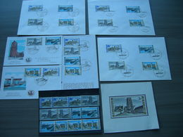 "BELG.1968 1466/1469 FDC's/Folder NL/Luxe Feuillet & Serie 3x (63f))  : "" Intérêt National / Nationaal Belang  "" - 1961-70"