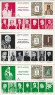 Vatican - Concistoro Segreto - Secret Concistory. 3 Covers.  H-1340 - Vatican