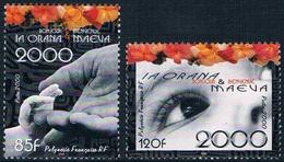 """Polynésie - """"la Orana & Maeva"""" (bonjour Et Bienvenue) 610/611 (année 2000) ** - Neufs"""