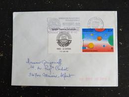 PUTEAUX PPAL - HAUTS DE SEINE - FLAMME PHILEXFRANCE 82 SUR YT 2199 ET LOGO PHILEXFRANCE 82 - Mechanical Postmarks (Advertisement)
