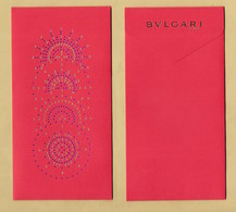 Enveloppe Pocket BULGARI * NOUVEL AN CHINOIS CHINESE NEW YEAR 2019 - Modern (from 1961)