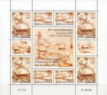 Wallis Et Futuna - Bloc Feuillet Les Cases Traditionnelles - 2004 - Wallis-Et-Futuna