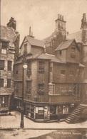 JOHN KNOXS HOUSE In Edinburgh - Karte Gel.1924 - Schottland