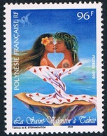 Polynésie - La Saint-Valentin à Tahiti 578 (année 1999) ** - Neufs