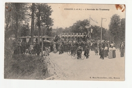 CESSON - L'ARRIVEE DU TRAMWAY - 35 - France
