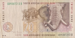 Afrique Du Sud / 20 Rand / 1999 / P-124(b) / VF - South Africa