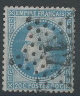 Lot N°47188  N°29A, Oblit étoie Chiffrée 17 De PARIS (R. Tirechappe) - 1863-1870 Napoleon III With Laurels