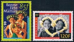 """Polynésie Française - """"Bonne Fête Maman"""" 586587 (année 1999) ** - Neufs"""