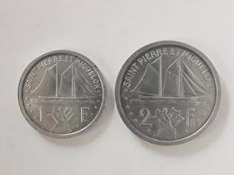 1 Et 2 Francs Saint Pierre Et Miquelon 1948 - France
