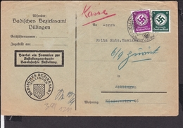 Dienstmarken Deutsches Reich Stempel Villingen - Germany