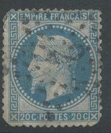 Lot N°47190  N°29A, Oblit étoie Chiffrée 2 De PARIS (R. St Lazare) - 1863-1870 Napoleon III With Laurels