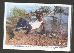 BURKINA FASO - Crocodile - Burkina Faso