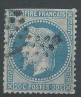 Lot N°47191  N°29A, Oblit étoie Chiffrée 12 De PARIS (Bt Beaumarchais) - 1863-1870 Napoleon III With Laurels