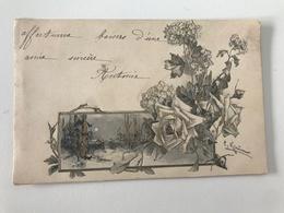 Carte Postale Ancienne   Catharina Klein Paysage Avec Dorures - Klein, Catharina