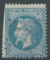 Lot N°47192  N°29B, Oblit étoie Chiffrée 20 De PARIS (R. St-Domque-St-Gn ,56) - 1863-1870 Napoleon III With Laurels