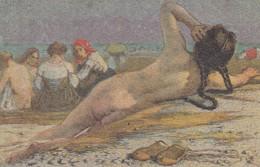 Illustratori - Illustrateur - Cascella  Le Bagnanti  - Splendida - 1900-1949