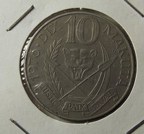 Zaire 10 Makuta 1976 Varnished - Zaïre (1971-97)