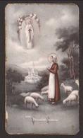 Santa Bernadette Soubinous - Siderno (Reggio Calabria) 3/9/1941 - Dedica Manoscritta - Santini