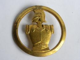 Insigne De Beret  Génie - Beraudy Vaure - Manque Agrafe - Autres