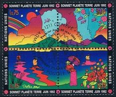 """Nations Unies (Genève) - """"Sommet Planète Terre-juin 1992"""" 227/230 (année 1992) Oblit. - Autres - Europe"""