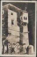 CASTELLO DI ROVERETO - ACQUARELLO - MUSEO STORICO DI GUERRA - FORMATO PICCOLO - VIAGGIATA DA FOLGARIA 21.12.1922 - Castillos