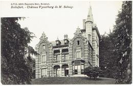 BOITSFORT - Bruxelles - Château Vyverberg De M. Solvay - Watermaal-Bosvoorde - Watermael-Boitsfort