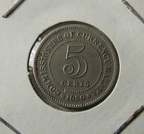 Malaya 5 Cents 1950 - Malaysie