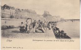 Liège - Déchargement De Pommes De Terre (Quai De La Batte) - Très Animé - Edit. Nels Bxl Ser. 34 N° 95 - Liege