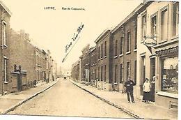 CPA /PK /  AK  -  LUTTRE  Rue De Cossuvelle - Pont-à-Celles