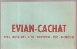 Buvard EVIAN-CACHAT REINS NOURRISSONS - Softdrinks