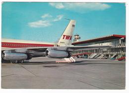 AEROPORTO - AIRPORT - ROMA FIUMICINO - Cartolina VIAGGIATA 1968 - Aérodromes