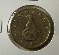Zimbabwe 2 Dollars 1997 Varnished - Zimbabwe