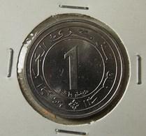 Algeria 1 Dinar 1987 Varnished - Algérie