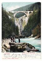 AK Albulabahn, Brücke Bei Solis, Gel. 1905 - GR Grisons