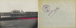 Vers 1930 N°6-photo De La Gare De MORLAIX- Finistère-cachet Ville Signé Maire François Louis Burgot Format 12x17cm - Trains