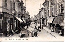 MORET - La Grand Rue - Moret Sur Loing
