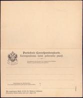 AUSTRIA - SLOVAKIA - KORRESPONDENCNI LISTEK + ANTWORT - 8 Kreuzer - Bohême & Moravie