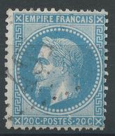 Lot N°47202  Variété/n°29B, Oblit GC 494 Blanzac, Charente (15), Ind 5, Tache Blanche Au Dessus Du S De POSTES - 1863-1870 Napoleon III With Laurels