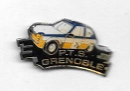 Pin's  Sport  Automobile  PEUGEOT  205, RALLYE, P.T.S.  GRENOBLE    ( 38 ) - Rallye