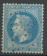 Lot N°47203  N°29B, Oblit Losange à Déchiffrer - 1863-1870 Napoleon III With Laurels