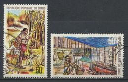 °°° REPUBBLICA DEL CONGO - Y&T N°518/19 - 1978 °°° - Congo - Brazzaville