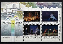 FINNLAND - Block Mi-Nr. 10 Eröffnung Des Opernhauses Helsinki Postfrisch - Finnland