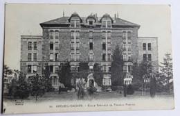 CPA 94 Arcueil Cachan école Spéciale De Travaux Publics Correspondance Militaire Guerre 14-18 WWI - Arcueil