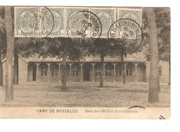 SJ41/ TP 81(5) S/CP Camp De Beverloo C.Léopoldsburg 14/3/1912 V.Jette - 1893-1907 Coat Of Arms
