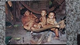 CPSM VENEZUELA FAMILLE GUAICA REGION ORIHOCO INDIENS ED BOLIVAR  NU ETHNIQUE - Venezuela