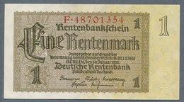 P173 Ro166b DEU-222b 1 Rentenmark 1937 UNC NEUF! - [ 3] 1918-1933: Weimarrepubliek